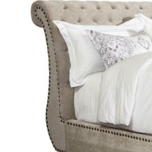 CLAIRE - KHAKI California King Headboard 6/0