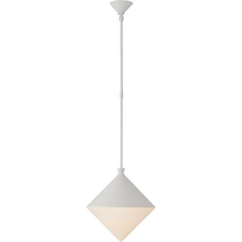 Visual Comfort - AERIN Sarnen LED 13 inch Matte White Pendant Ceiling Light, Small