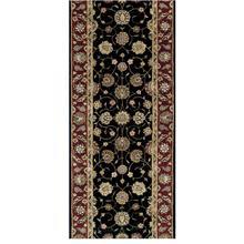 View Product - Nourison 2000 2017 Black Runner Broadloom Carpet