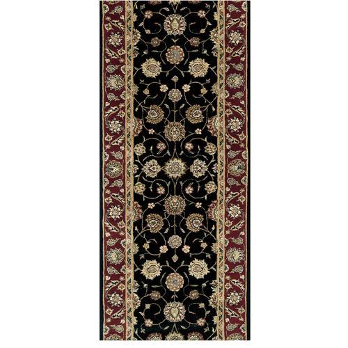 Nourison Rugs - Nourison 2000 2017 Black Runner Broadloom Carpet