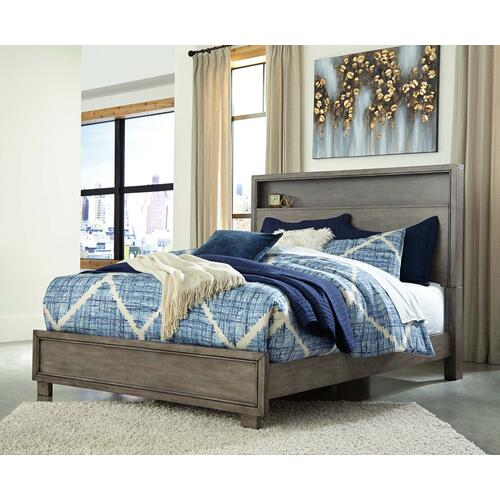 Ashley Furniture - King Size Bookcase Bed