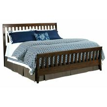 See Details - Slat Queen Bed Molasses - Complete