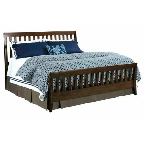 Gallery - Slat Queen Bed Molasses - Complete