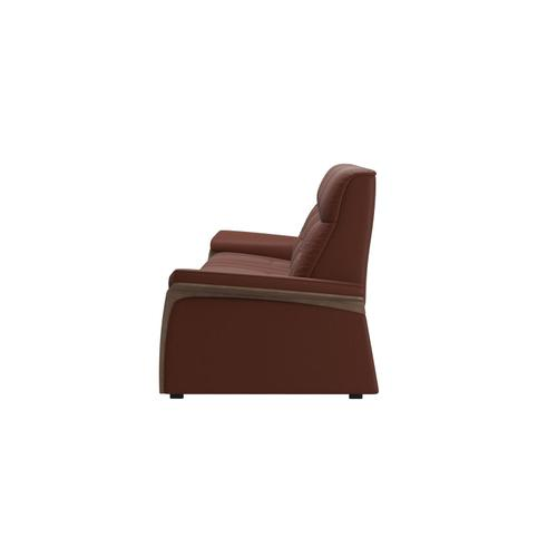 Stressless By Ekornes - Stressless® Mary 3 seater with 2 motors arm wood