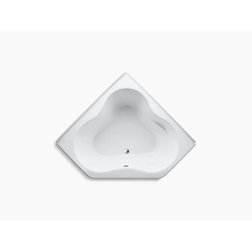 "White 54"" X 54"" Alcove Bath With Integral Flange"