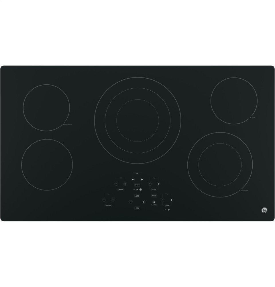 """®36"""" Built-In Touch Control Electric Cooktop"""