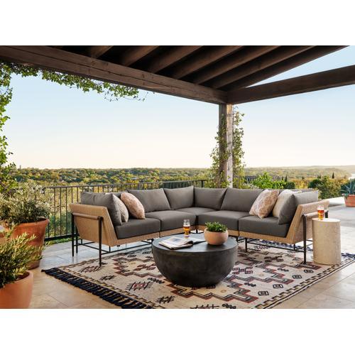 Four Hands - Cavan Outdoor Chair-faux Hyacinth