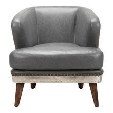Cambridge Club Chair Antique Grey