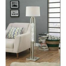 ACME Sinkler Floor Lamp - 40150 - Sandy Nickel