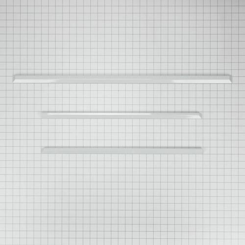 KitchenAid - Slide-In Range Trim Kit, White - Other