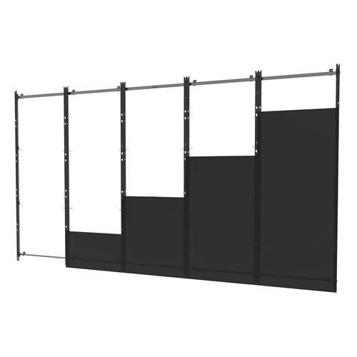 SEAMLESS Kitted Series Flat dvLED Mounting System for Samsung IER & IFR Series Direct View LED Displays - 5x5