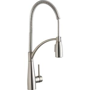 Elkay Avado Single Hole Kitchen Faucet with Semi-Professional Spout Forward Only Lever Handle Product Image