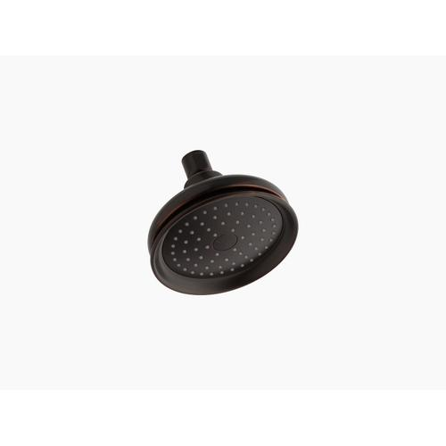 Oil-rubbed Bronze 2.5 Gpm Single-function Showerhead With Katalyst Air-induction Technology