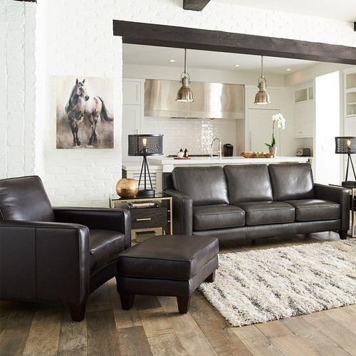 Archer Signature Leather Sofa