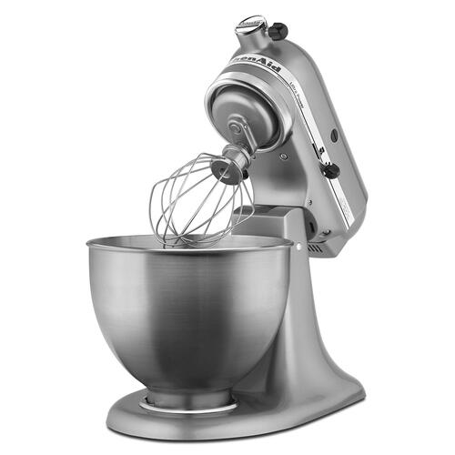 KitchenAid - Ultra Power® Series 4.5-Quart Tilt-Head Stand Mixer Contour Silver
