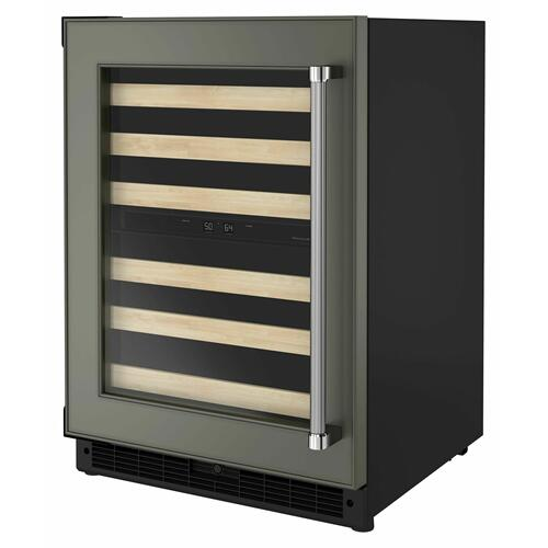 "KitchenAid - 24"" Panel-Ready Undercounter Wine Cellar with Wood-Front Racks - Panel Ready PA"