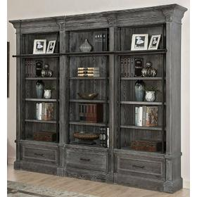 GRAMERCY PARK 3 piece Museum Bookcase (9030 and 2-9031)