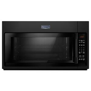 Over-The-Range Microwave With Interior Cooking Rack - 2.0 Cu. Ft. Black - BLACK