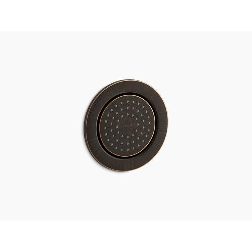 Oil-rubbed Bronze Round 54-nozzle Body Spray With Soothing Spray