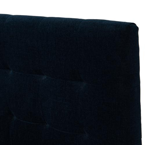 Queen Size Plush Navy Cover Rennie Bed