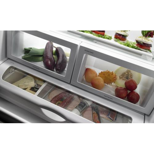 """JennAir - 72"""" Counter Depth French Door Refrigerator Pro Style Stainless"""