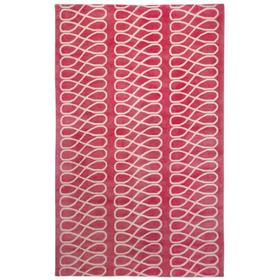 Loop Pink Ivory - Rectangle - 5' x 8'