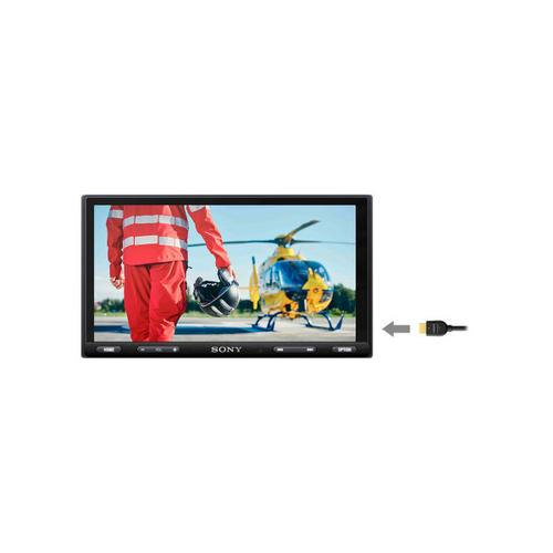 """Gallery - 6.95"""" (17.6 cm) Media Receiver with CarPlay/ Android Auto/ Weblink Cast"""