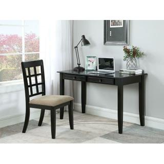 Casual Black Desk Set