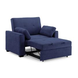 Nantucket Twin Size Sofa Sleeper in Navy