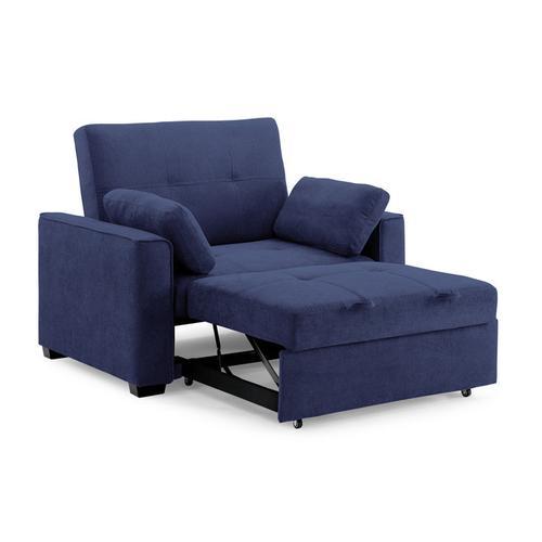 Night and Day Furniture - Nantucket Sofa Sleeper in Navy