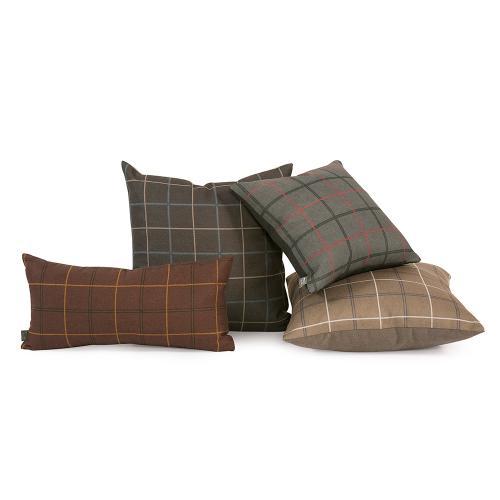 "Pillow Cover 16""x16"" Oxford Chocolate/Felt Chocolate"