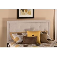 Becker Full Headboard - Cream Fabric