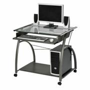 ACME Vincent Computer Desk - 00118 - Pewter Product Image