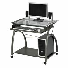 ACME Vincent Computer Desk - 00118 - Pewter