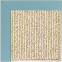 "Creative Concepts-Beach Sisal Canvas Mineral Blue - Rectangle - 24"" x 36"""