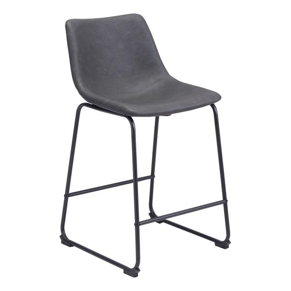 See Details - Smart Counter Chair Charcoal
