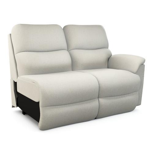 La-Z-Boy - Trouper Power Left-Arm Sitting Reclining Loveseat w/ Headrest