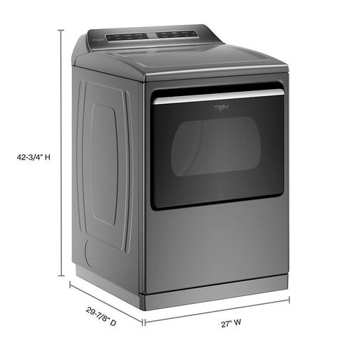 7.4 cu. ft. Top Load Gas Dryer with Advanced Moisture Sensing