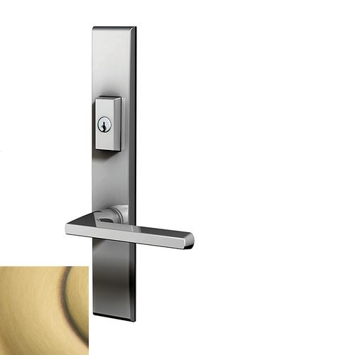 Baldwin - Satin Brass and Brown Lakeshore Multipoint