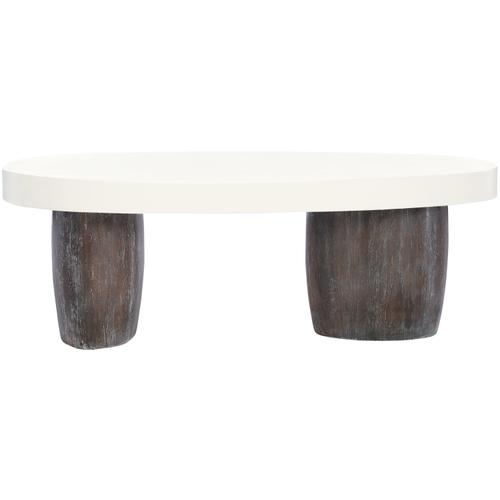 Arlo Cocktail Table in Bone