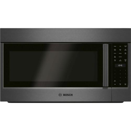 800 Series Over-The-Range Microwave 30'' Black Stainless Steel, Left SideOpening Door HMV8044U