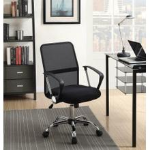 View Product - Modern Black Mesh Back Office Chair