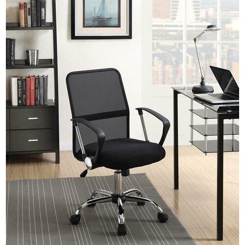 Coaster - Modern Black Mesh Back Office Chair