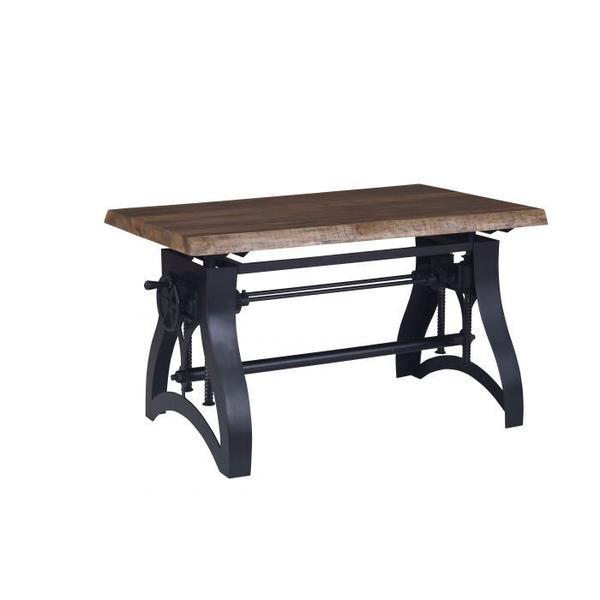 See Details - Work Space Crank Dining or Desk Base