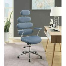 See Details - ACME Noma Office Chair - 92308 - Light Blue Mesh