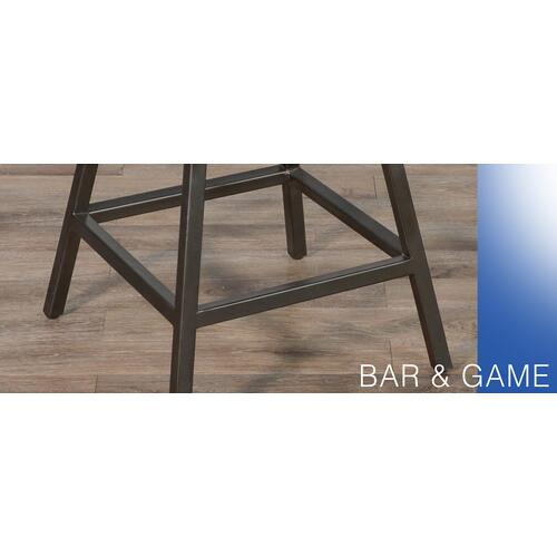 "Sunny Designs - 24""H Stool, Wood Seat"