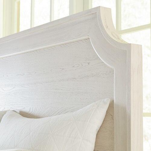 Ventura Queen Panel Bed, Footboard Low
