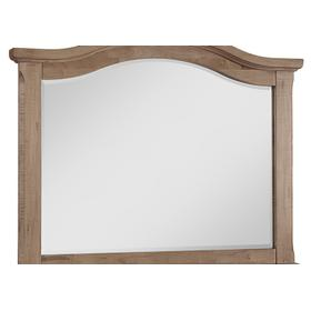 Wide Arched Mirror- Beveled Glass