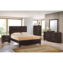 Brianna Walnut Queen 4PC Bedroom Set
