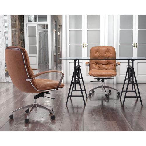 Zuo Modern - Avenue Office Chair Vintage Coffee